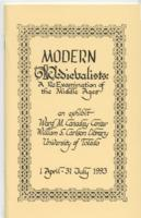 Modern Medievalists- A Reexamination of the Middle Ages, April 01, 1993- July 31, 1993