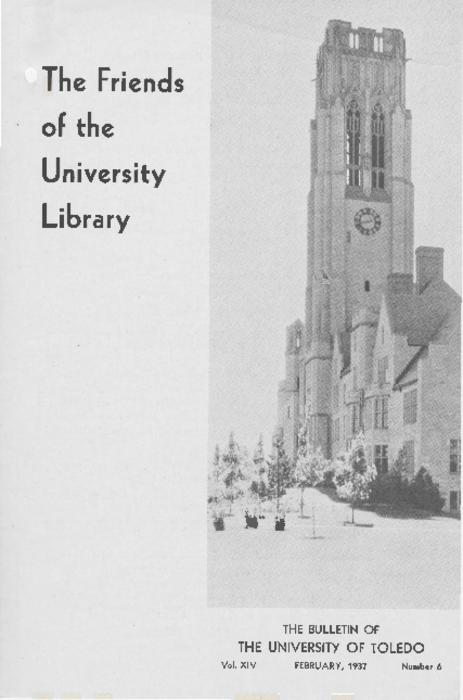 Published by the Friends of the University Library