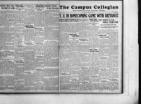 Campus Collegian, November 21, 1929,  Vol. 12, No 9