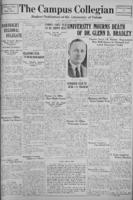 Campus Collegian, January 9, 1930,  Vol. 12, No. 13