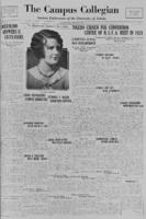 Campus Collegian, January 8, 1931,  Vol. 13, No 12