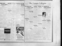 Campus Collegian, October  22, 1931,  Vol. 14, No 4