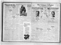 Campus Collegian, October 7, 1932,  Vol. 17, No. 2
