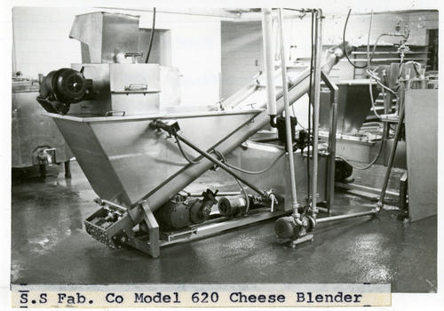 Photo of S.S Fab. Co Model 620 Cheese Blender