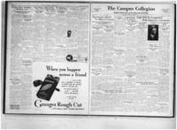 Campus Collegian, October 13, 1933,  Vol. 18, No. 3