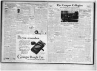 Campus Collegian, October 20, 1933,  Vol. 18, No. 4
