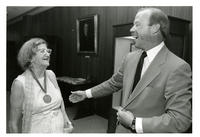 Jean Gould with Robert TehBrook