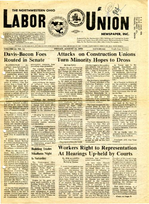 This newspaper was the official news outlet for the AFL-CIO