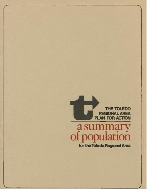 Population study with projections to 1970 and to 1985 and an extension to 2015