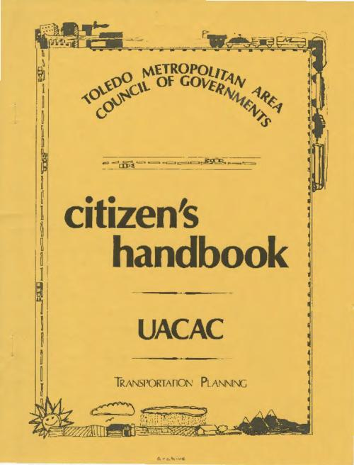 Transportation Planning handbook by the TMACOG and Urban Area Citizens' Advisory Committee