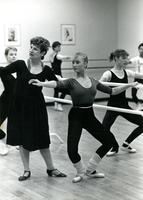 Marie Vogt Instructs Ballet Class