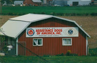 Home of Assistance Dogs of America, training barn