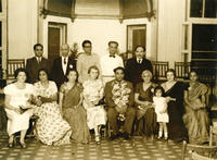 Chandrasekhar as president at 1st All-India Population and Family Planning Conference