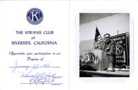 Kiwanis Club of Riverside, California