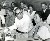 Indira Gandhi at Chandrasekhar's lecture