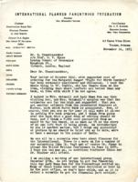 "Sanger's letter re: printing ""Fight for Birth Control"""