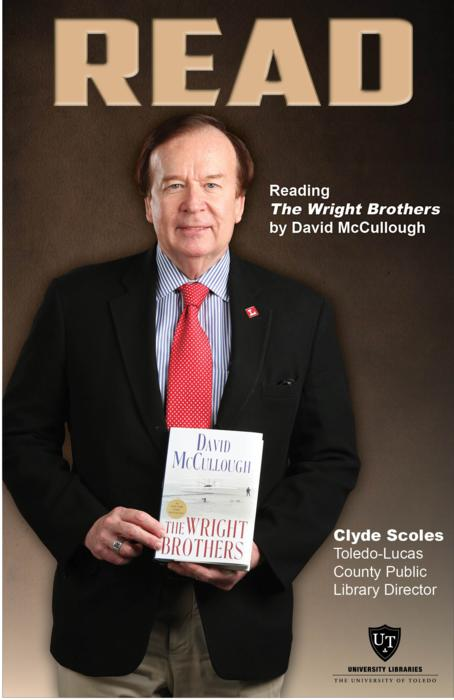 Clyde Scoles, Toledo-Lucas County Public Library Director, Reading The Wright Brothers by David McCullough