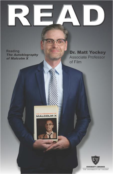 Dr. Matt Yockey, Associate Professor of Film, Reading The Autobiography of Malcolm X