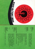 1973 Black History Week program