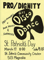 Pro/Dignity Gay Disco Dance