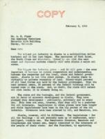 Gallagher's letter to Pan American Petroleum