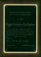Delaware Valley Polio Survivors Association Award