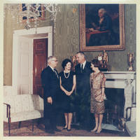 President Johnson and Senator Bartlett