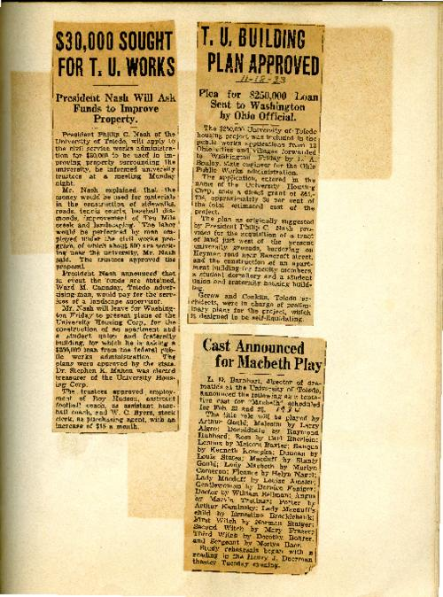 Scrapbook News Article Clipping