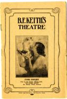 B.F. Keith Theatre pamphlet