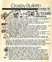 Crosby Bulletin, October '78