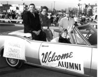 Ed Schmakel as Grand Marshall at the 1967 Homecoming