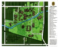 Map of the Main Campus