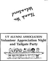 Volunteer Appreciation Tailgate