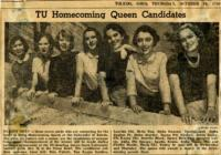 TU Homecoming Queen Candidates