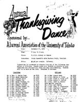 Invitation to the Annual Thanksgiving Dance