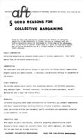 5 Good Reasons for Collective Bargaining