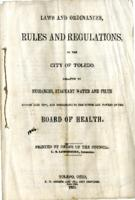 Laws and Ordinances, Rules and Regulations of the City of Toledo