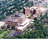 Aerial View of Toledo Hospital