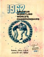 1962 Amateur Wrestling World's Championships souvenir program