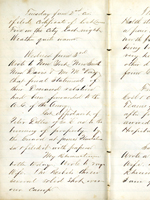 Cyrus Hussey Diaries, 1862-1864, MSS-017