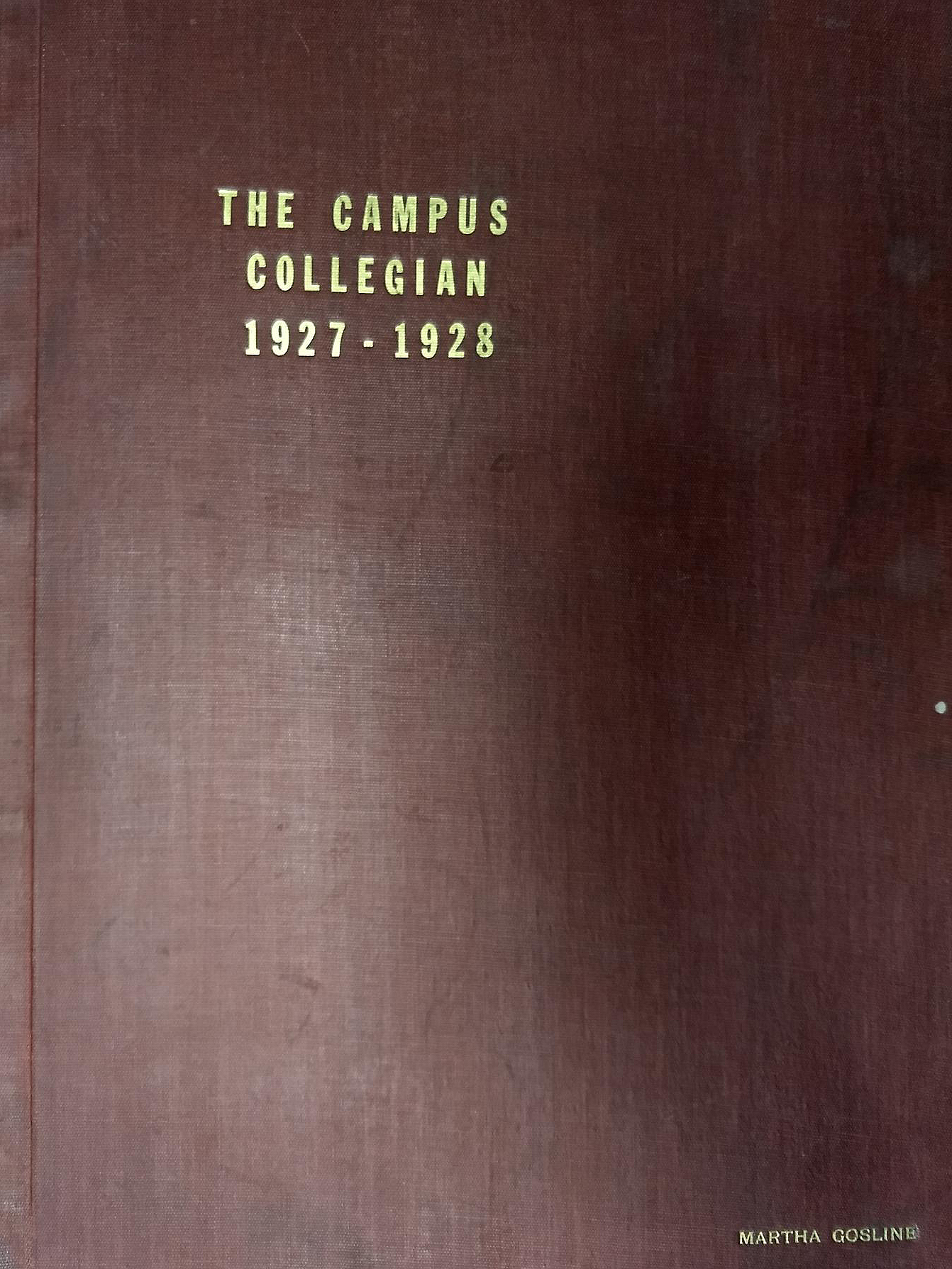 Campus Collegian, 1927-28, vol. 10