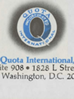 Quota International of Toledo Records, 1931-2002, MSS-129